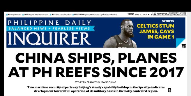China Ships since 2017