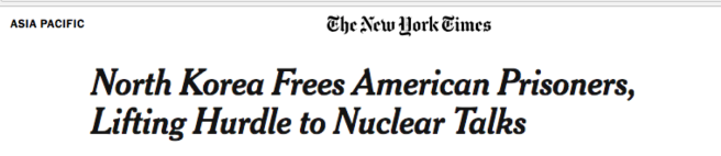 North Korea frees Americans