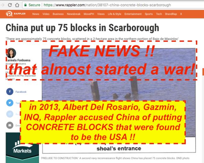 China blocks scarborough | rappler